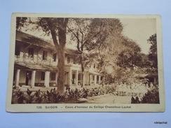Saigon-Cours D'honneur Du Collège Chasseloup Laubat - Viêt-Nam