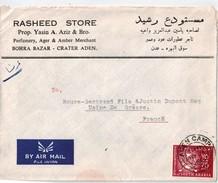 Fed.  Of SOUTH ARABIA-ADEN, Lettre Pour La France 1966 - Francobolli