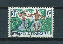 1960 Frans Polynesië 17Fr Culture Used/gebruikt/oblitere - Frans-Polynesië