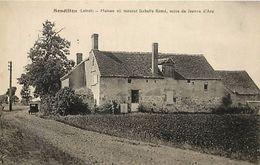 - Loiret -ref-A658 - Sandillon - Maison Ou Mourut Isabelle Romé - Mere De Jeanne D Arc - Carte Bon Etat - - Autres Communes