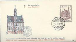 Oudenaarde 17/08/1959  N° 1108 - FDC