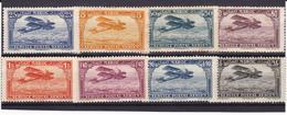 Maroc PA N° 1-2-3-6-7-8-9-11 Neufs * - Voir Verso & Descriptif - - Maroc (1891-1956)