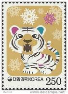 South Korea - 2009 - Lunar New Year Of The Tiger - Mint Stamp - Corée Du Sud