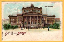 Lithographie - Gruss Aus Berlin - Bitte Gegen Das Licht Zu Halten - Meteor D.R.G.M. - E.A. SCHWERDTFEGER & Co N° 230 - Halt Gegen Das Licht/Durchscheink.