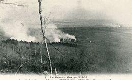 La Grande Guerre De 14-15 Les Opérations En Alsace Steinbach Et Cernay En Flammes - Cernay