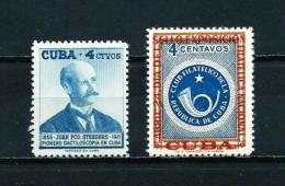 Cuba  Nº Yvert  454/5  En Nuevo - Cuba