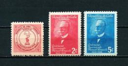 Cuba  Nº Yvert  317-321/2  En Nuevo - Cuba