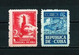 Cuba  Nº Yvert  312/3  En Nuevo - Cuba