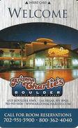 Arizona Charlie's Boulder Casino - Las Vegas, NV - Hotel Room Key Card - Cartes D'hotel