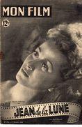 MON FILM ROMAN COMPLET 2 PAGES CENTRALES (LES AMOURS DE NOS VEDETTES) N° 164 JEAN DE LA LUNE - Cinéma / TV