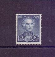 Bund 1953 - Justus Von Liebig - Mi.Nr. 166 Postfrisch** - Michel 40,00 € (867) - Used Stamps