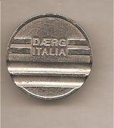 Gettone Per Autolavaggio Daerg Italia - Altri