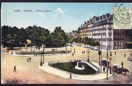 CPA - DIJON (21 - COTE D'OR) - PLACE DARCY (N° 3583) - ANIMEE - Dijon