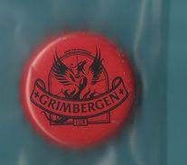 """- **1 X Kroonkurk  **-  """"""""  GRIMBERGEN    """""""" Rode Kleur - Cerveza"""