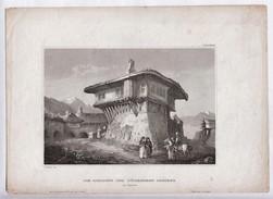 Old Turkish House Size 177 X 160,  Published C1750.  Ref 0450 - Estampas & Grabados