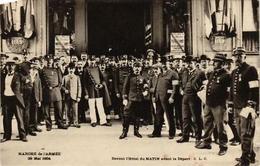 CPA PARIS Marche De L'Armee 1904. Devant L'Hotel Du MATIN (562852) - Francia