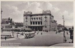 BELGRADE - THEATRE NATIONAL  - N/C - ANIMEE - VIEUX TRAMWAYS ET CAR - Serbie