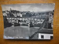 Itale , Firenze , Il Ponte Vecchio - Firenze (Florence)