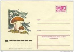 Russia USSR 1975 Flora Mushroom Mushrooms Plants Snail Fungus - Champignons