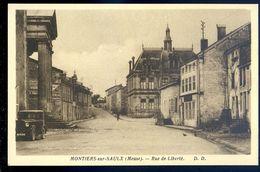 Cpa  Du 55  Montiers Sur Saulx Rue De La Liberté    SEP17-43 - Montiers Sur Saulx