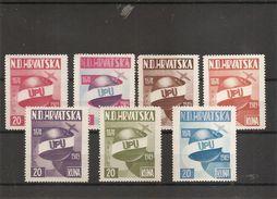 Croatie - UPU - Exilés ( Série De 7 Timbres Privées De 1949 XXX -MNH) - Kroatien