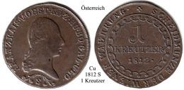Österreich-1812 S, 1 Kreutzer - Austria
