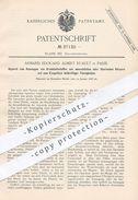 Original Patent - Armand Edouard Albert Ruault , Paris  1886 , Sauger Für Chirurg , Arzt , Medizin | Aspirator , Spritze - Historische Dokumente