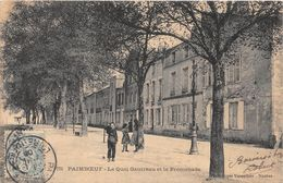 PAIMBOEUF - Le Quai Gautreau Et La Promenade - Paimboeuf