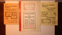 CATALOGUES BILLETS DE NECESSITE FRANCAIS - Coins & Banknotes