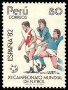 Soccer Football Peru #1231 1982 World Cup Spain MNH  ** - 1982 – Espagne