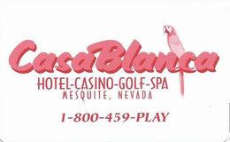 CasaBlanca Casino - Mesquite, NV - Hotel Room Key Card - Hotel Keycards