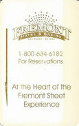 Fremont Casino - Las Vegas, NV - Hotel Room Key Card #1 - Hotel Keycards