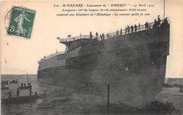 """SAINT NAZAIRE - Lancement Du """"DIDEROT"""" - 19 Avril 1909 - Saint Nazaire"""