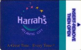 Harrah's Casino - Atlantic City, NJ - Hotel Room Key Card - Hotel Keycards