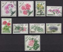 """Monaco YT 514 à 522  """" Série Fleurs """" 1959 Oblitéré - Used Stamps"""
