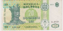 MOLDAVIE 20 Lei 2013 P13j VG - Moldavie