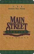Main Street Station Casino - Las Vegas, NV - Hotel Room Key Card - Hotel Keycards
