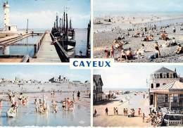 ** Lot De 6 Cartes ** 80 - CAYEUX SUR MER : CPSM CPM GF Diversifiées - Somme - Cayeux Sur Mer