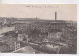 Cpa.91.Corbeil.1918.Vue Panoramique Des Grands Moulins. - Corbeil Essonnes