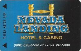 Nevada Landing Casino - Jean, NV - Hotel Room Key Card - Hotel Keycards