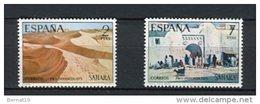 Sahara 1973. Edifil 310-11 ** MNH. - Sahara Spagnolo