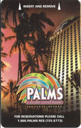 Palms Casino - Las Vegas, NV - Hotel Room Key Card - Hotel Keycards