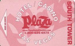 Plaza Hotel Casino - Las Vegas, NV - Hotel Room Key Card - Hotel Keycards
