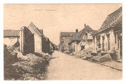 Wervik / Wervicq - Duivenstraat - Oorlog / Guerre / War 1914-18 - WWI 1919 - Wervik