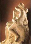 AUGUSTE RODIN - LE BAISER - MUSEE RODIN PARIS  -  POSTCARD - Sculptures