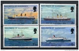 Guernsey 1973. Yvert 70-73 ** MNH. - Guernesey