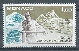 Monaco YT N°1355 Année Polaire Internationale Neuf ** - Monaco