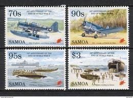 Samoa 1995. Yvert 814-17 ** MNH. - Samoa