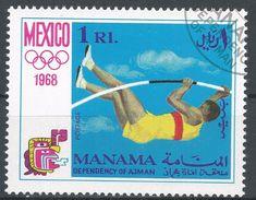 Manama 1968. #C (U) Mexico Olympic Games, Saut à La Perche, Pole Vault - Manama