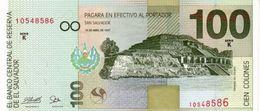 * EL SALVADOR 100 COLONES 1997 P-151a  [SV151a] - El Salvador